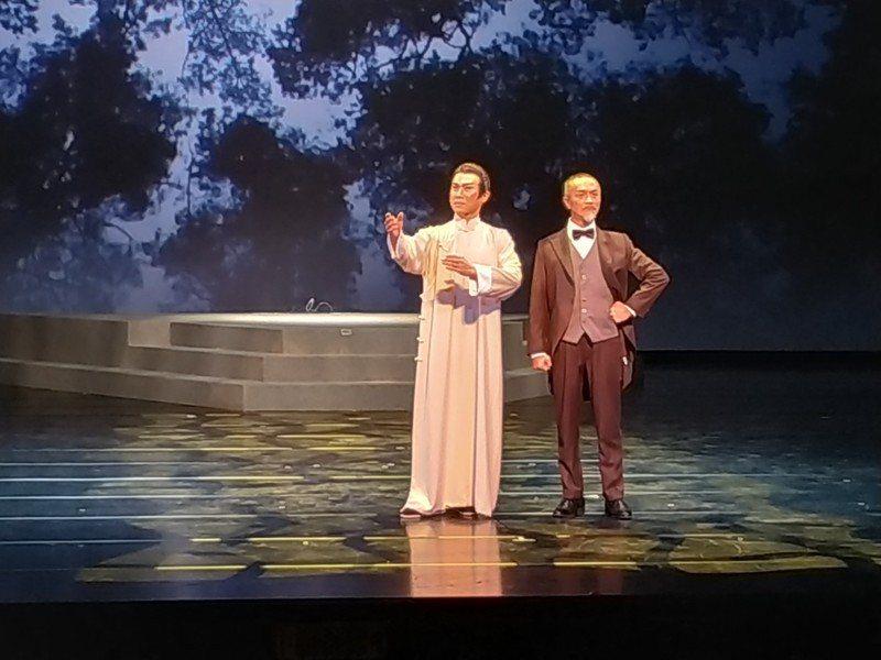 將於28日上演的《當迷霧漸散》,描述林獻堂人生最後7年掙扎的時光。(photo ...