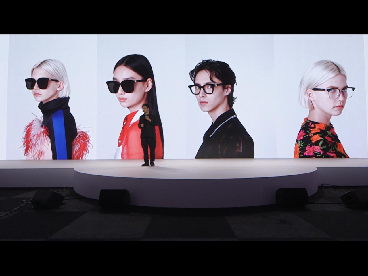 華為發表會的壓軸產品,竟是與韓國潮流眼鏡品牌Gentle Monster聯名的智...