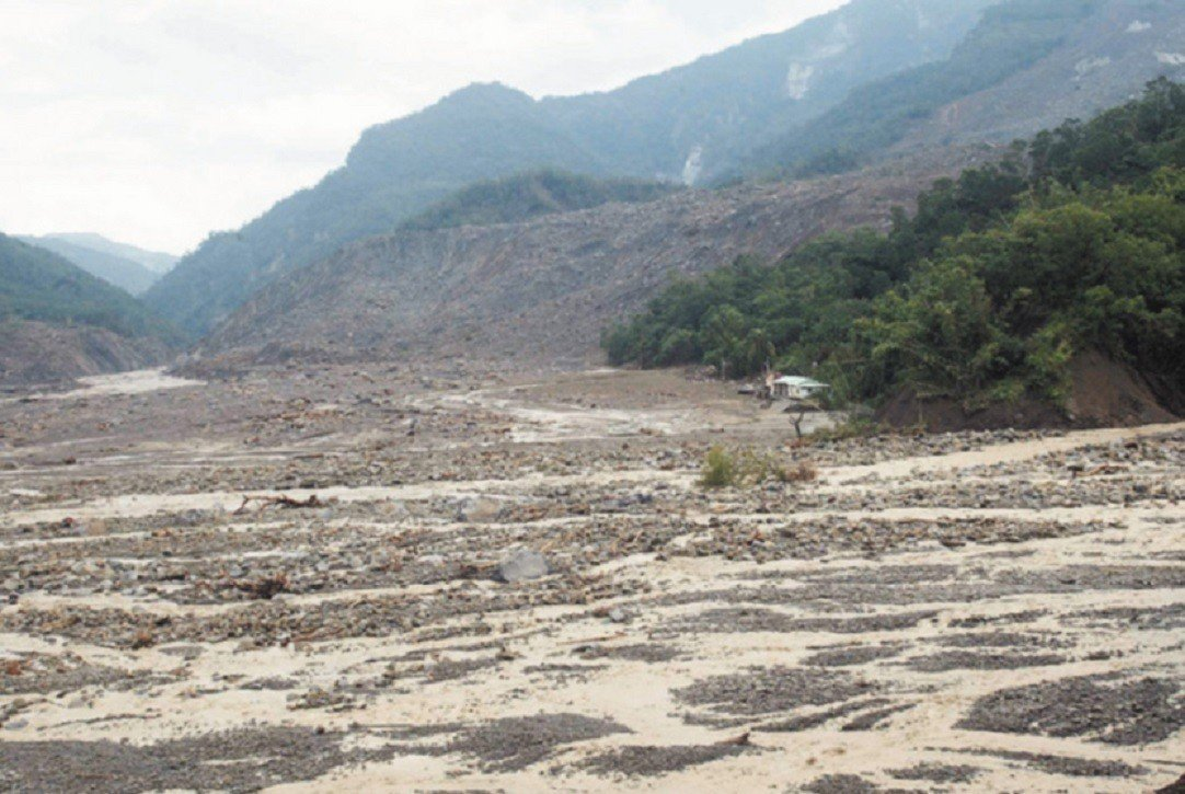 2009年莫拉克襲台,釀前高雄縣甲仙鄉小林村滅村。圖/本報資料照