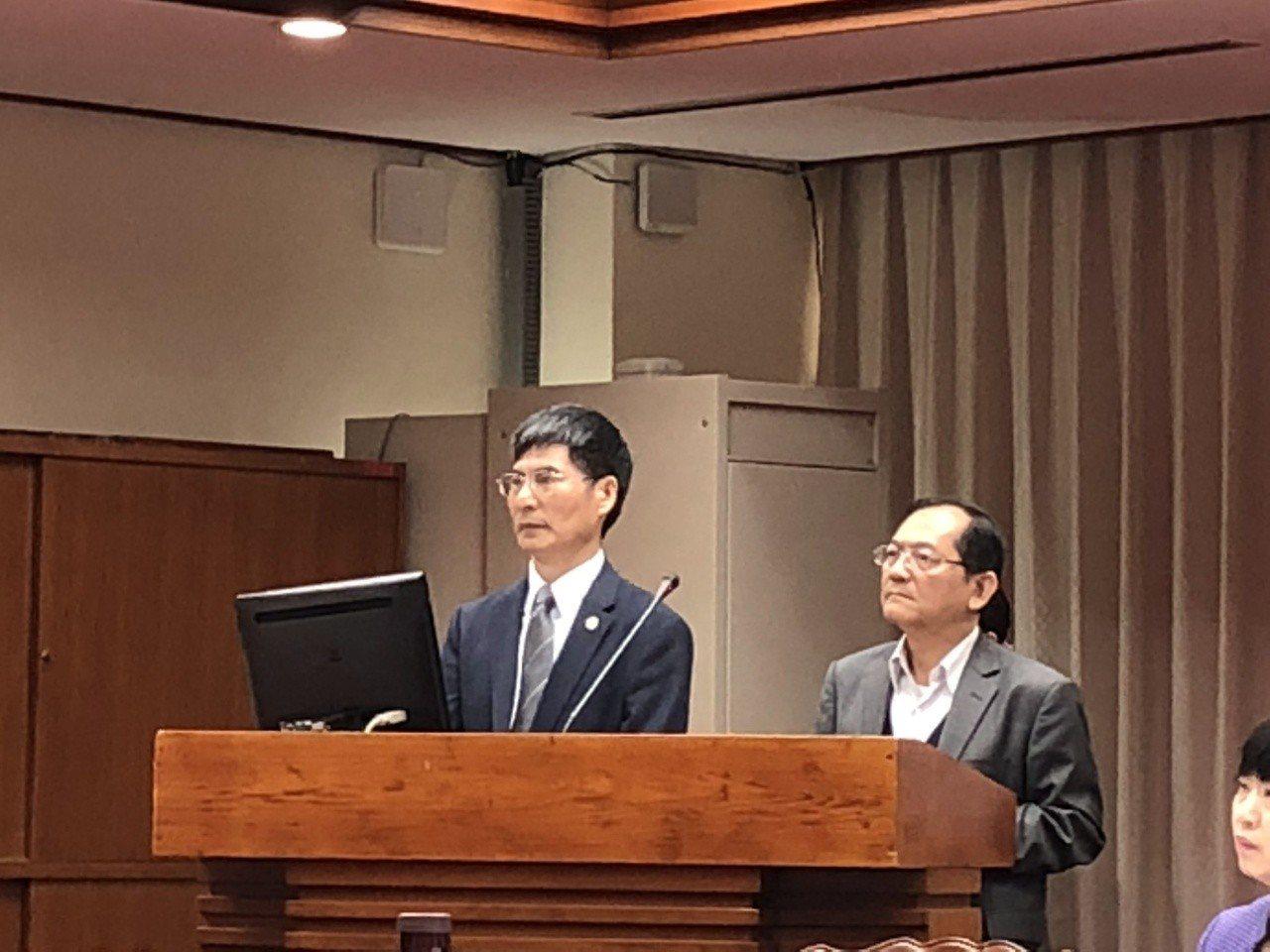 科技部長陳良基(左)。記者何定照/攝影