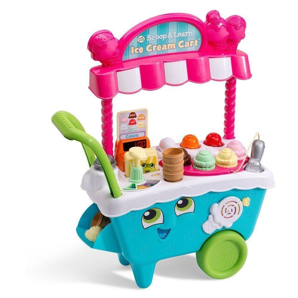 momo購物網去年熱銷的互動電子玩具LeapFrog冰淇淋小老闆電子學習車。圖/...