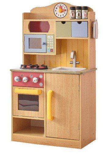 momo購物網去年爆紅玩具Teamson Kids佛羅倫斯木製廚房玩具,熱賣超過...