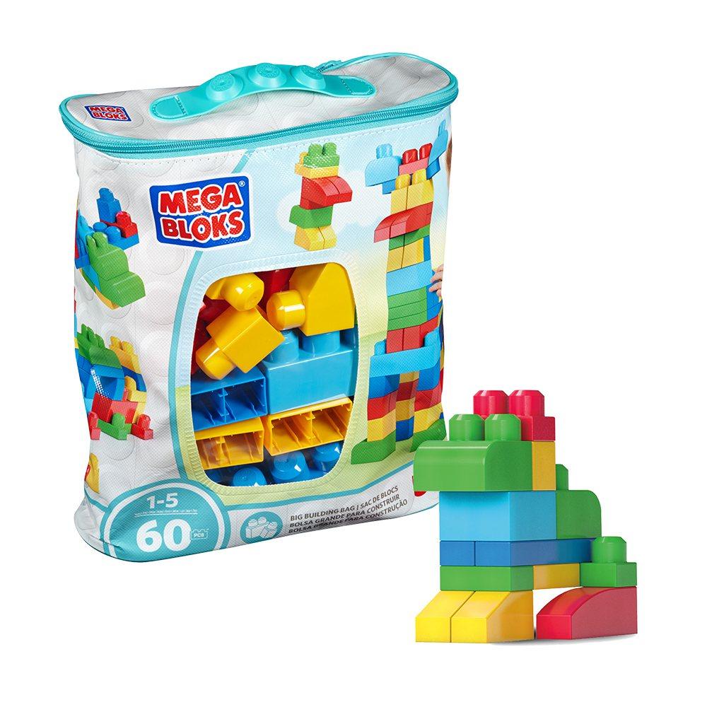 Yahoo奇摩購物中心兒童玩具熱銷第五名:MEGA BLOKS美高60片積木袋,...