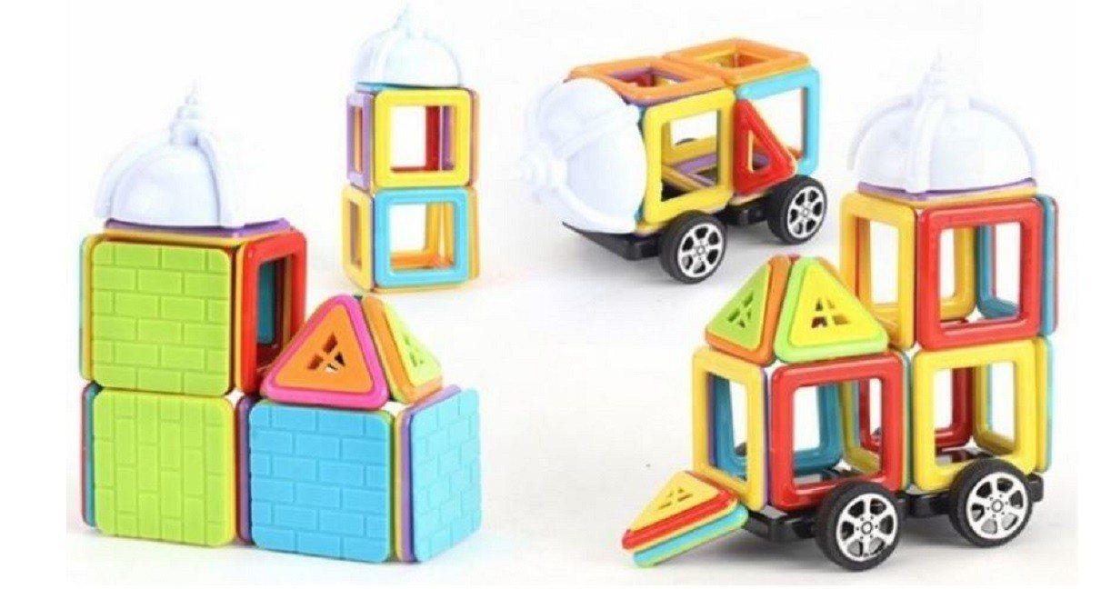 402片裝磁力積木,原價1,450元、特價1,290元。圖/松果購物提供