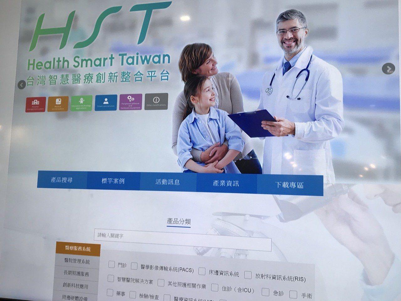 台灣智慧醫療創新整合平台分為醫療服務、醫院管理、創新科技等六大分類;至今已有 3...
