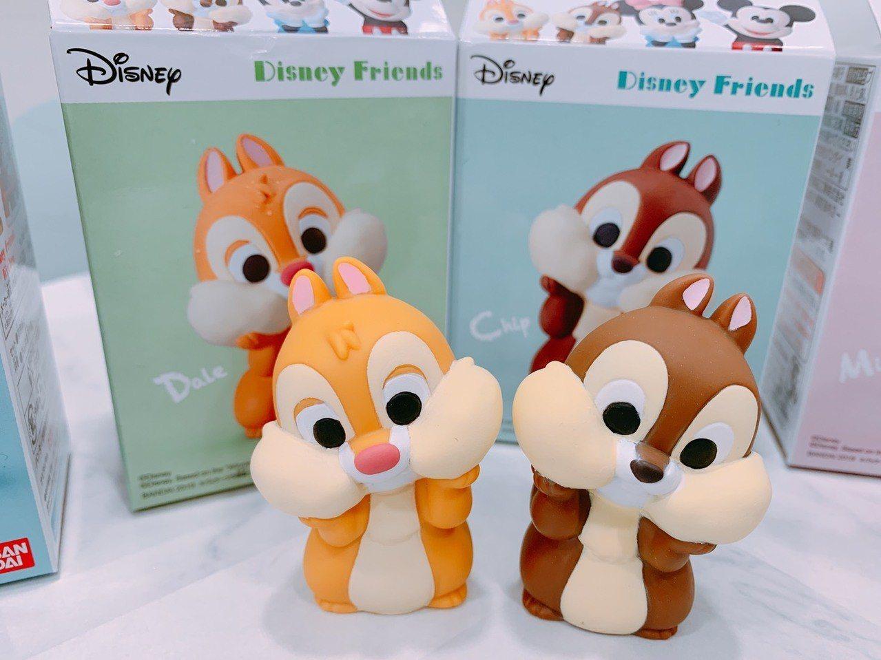 7-ELEVEN獨家限量販售「迪士尼好朋友們軟膠公仔」,共8款,售價皆為150元...