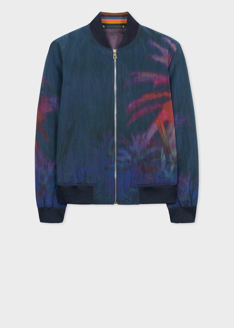 彩色棕櫚樹飛行外套,58,800元。圖/Paul Smith提供