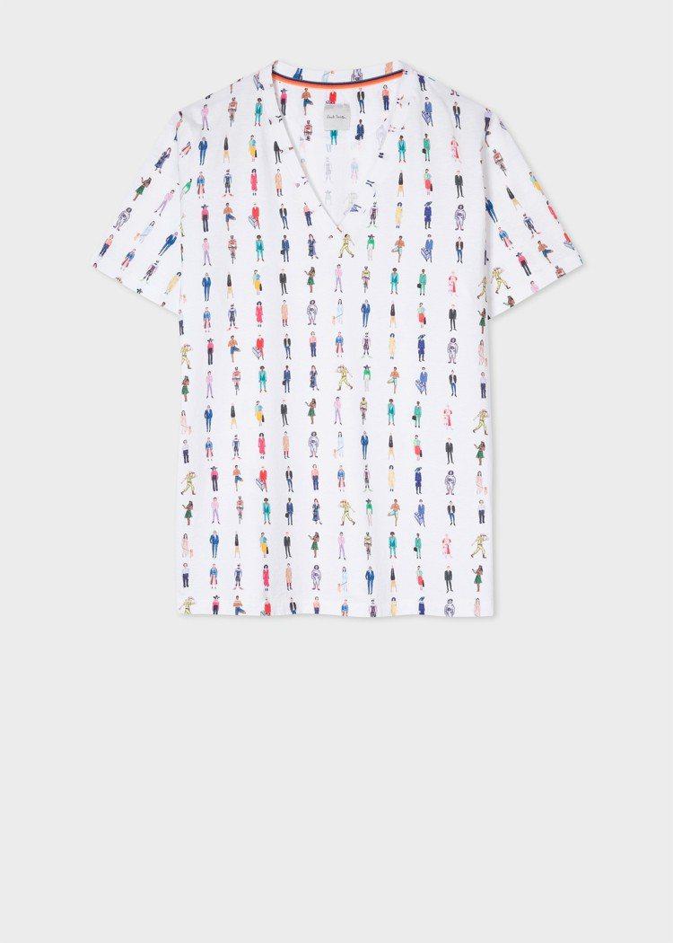 職人系列V領T-Shirt,8,300元。圖/Paul Smith提供