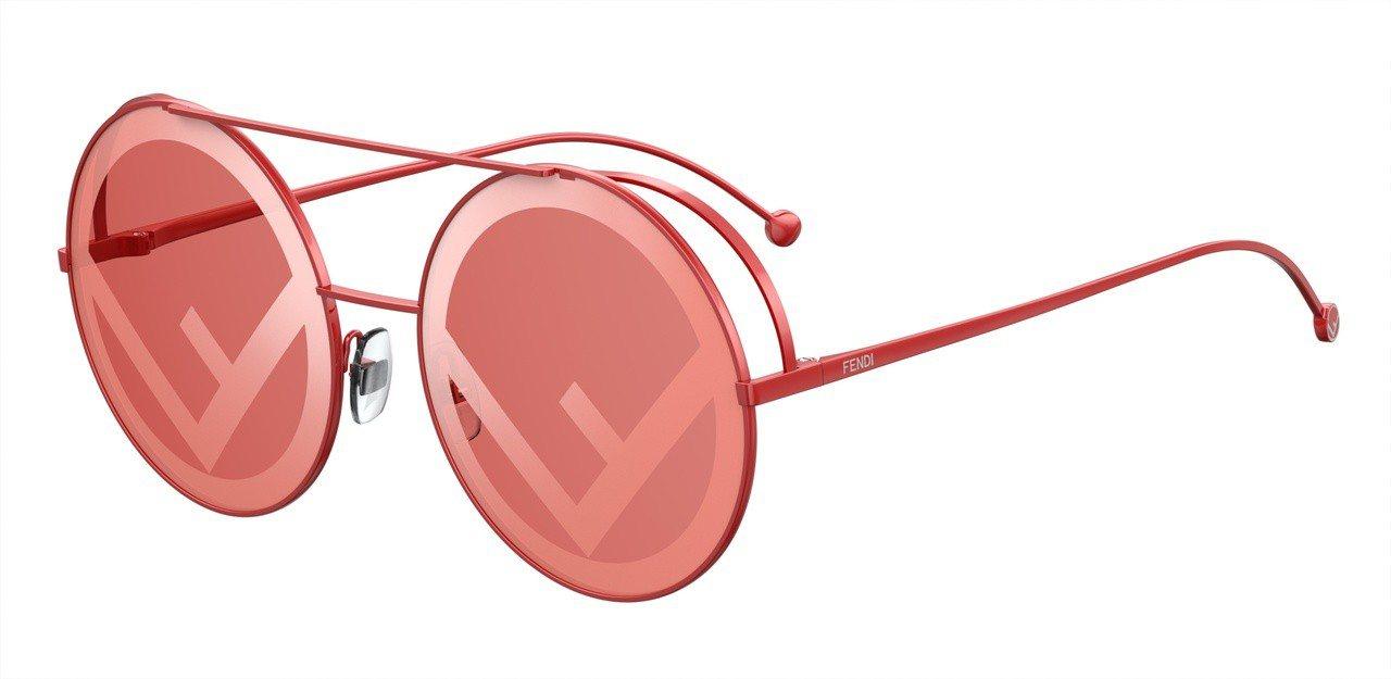 FENDI Runaway太陽眼鏡,16,970元。圖/Fendi提供