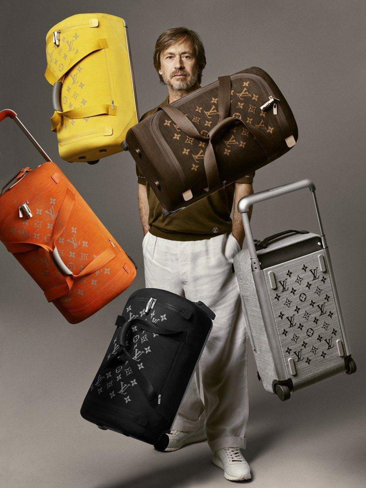 設計師Marc Newson設計的Horizon Soft系列行李箱以輕盈實用為...