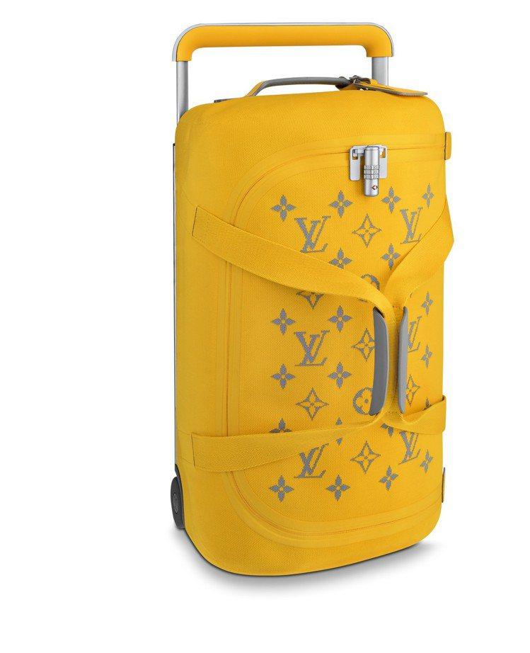 手推式圓筒行李袋,售價94,000元。圖/LV提供