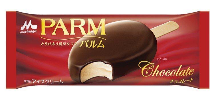 森永乳業PARM原味巧克力是日本零售市場冰品TOP 3,7-ELEVEN獨家販售...