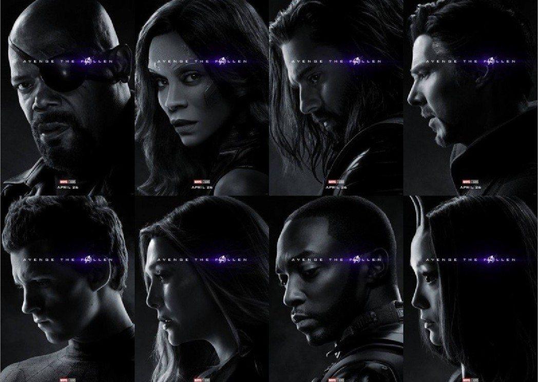 蜘蛛人、神盾局局長、奇異博士、緋紅女巫等也都成了受害者。圖/摘自臉書