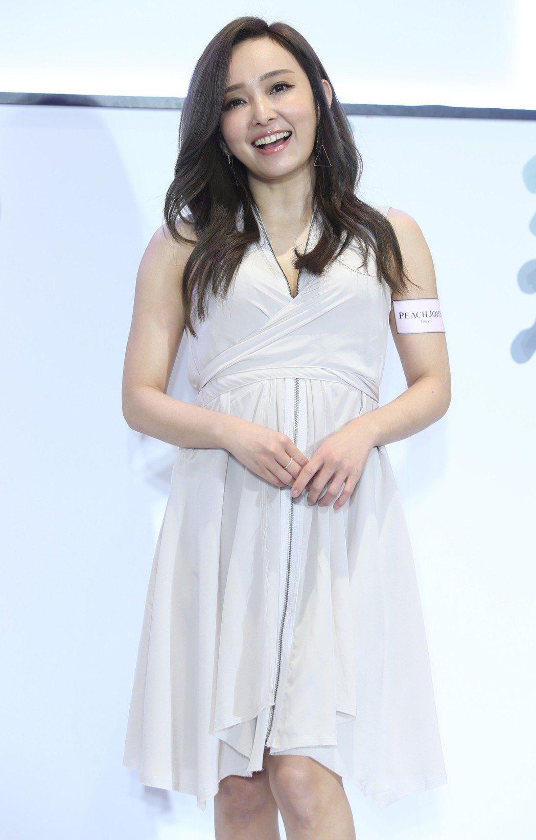 愛紗出席內衣品牌PEACH JOHN春季新品上市,分享日本女孩春夏穿搭小心機。記