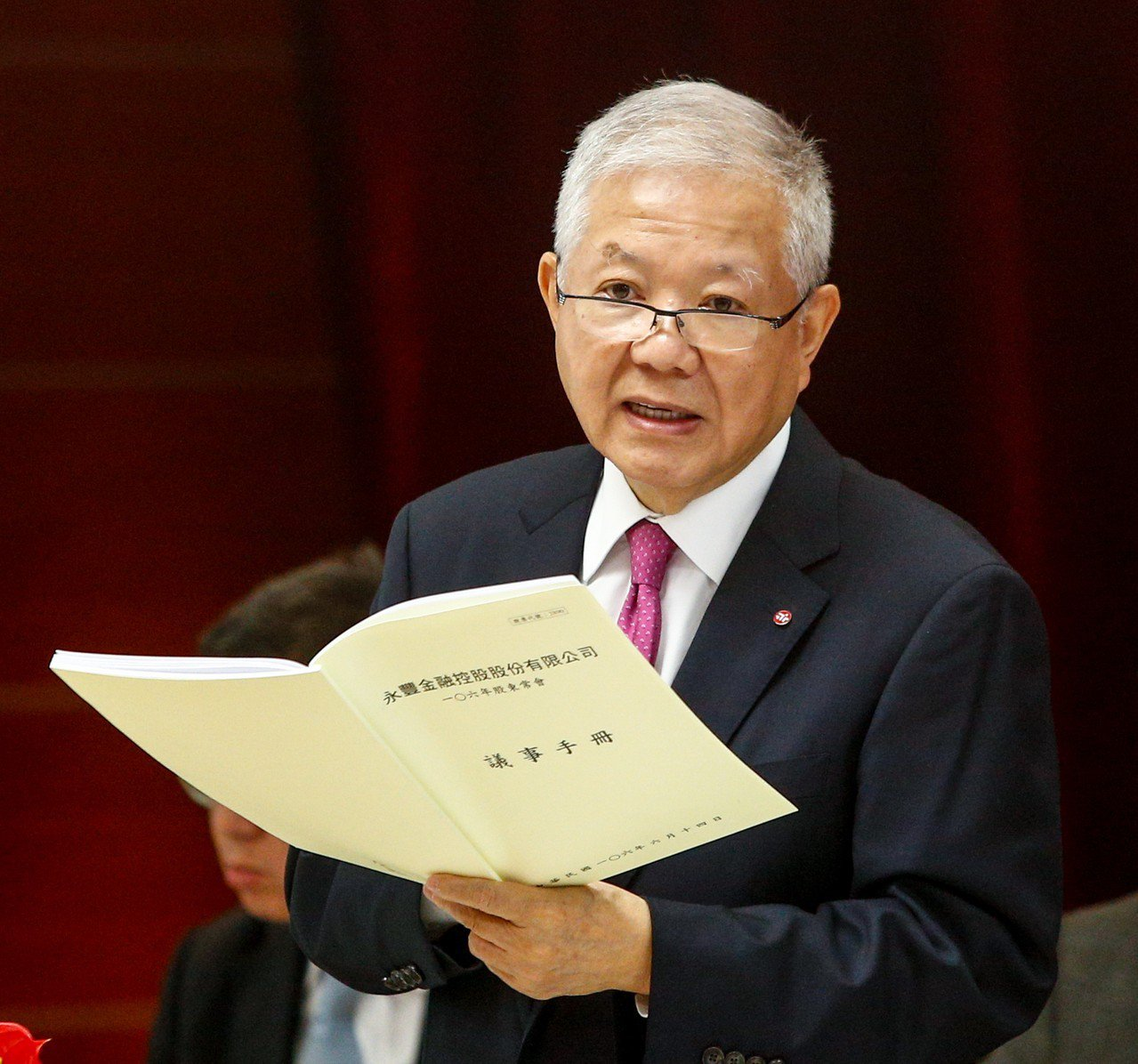 永豐金控前董事長何壽川。 聯合報系資料照片/記者程宜華攝影