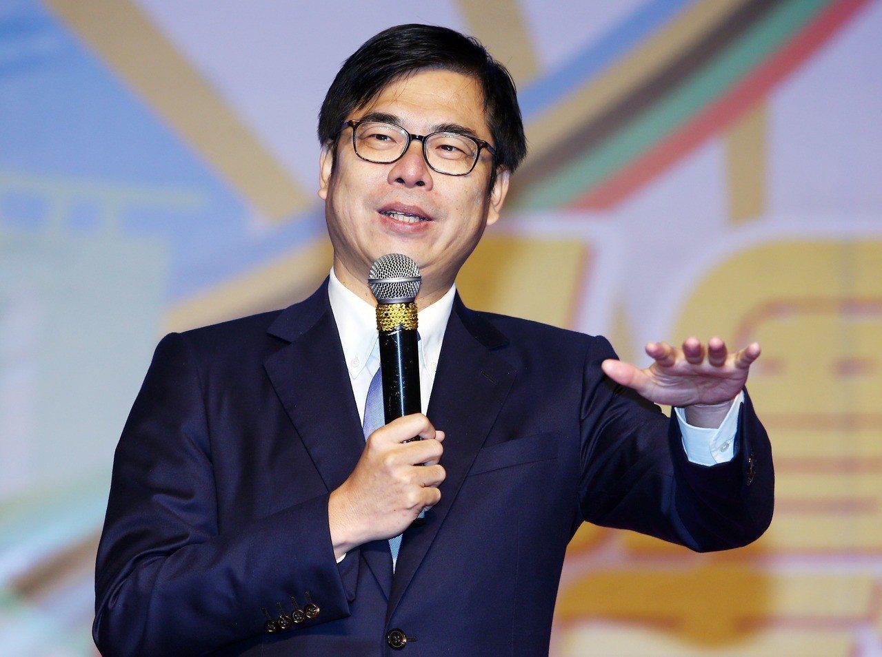 行政院副院長陳其邁。聯合報系資料照片/記者杜建重攝影