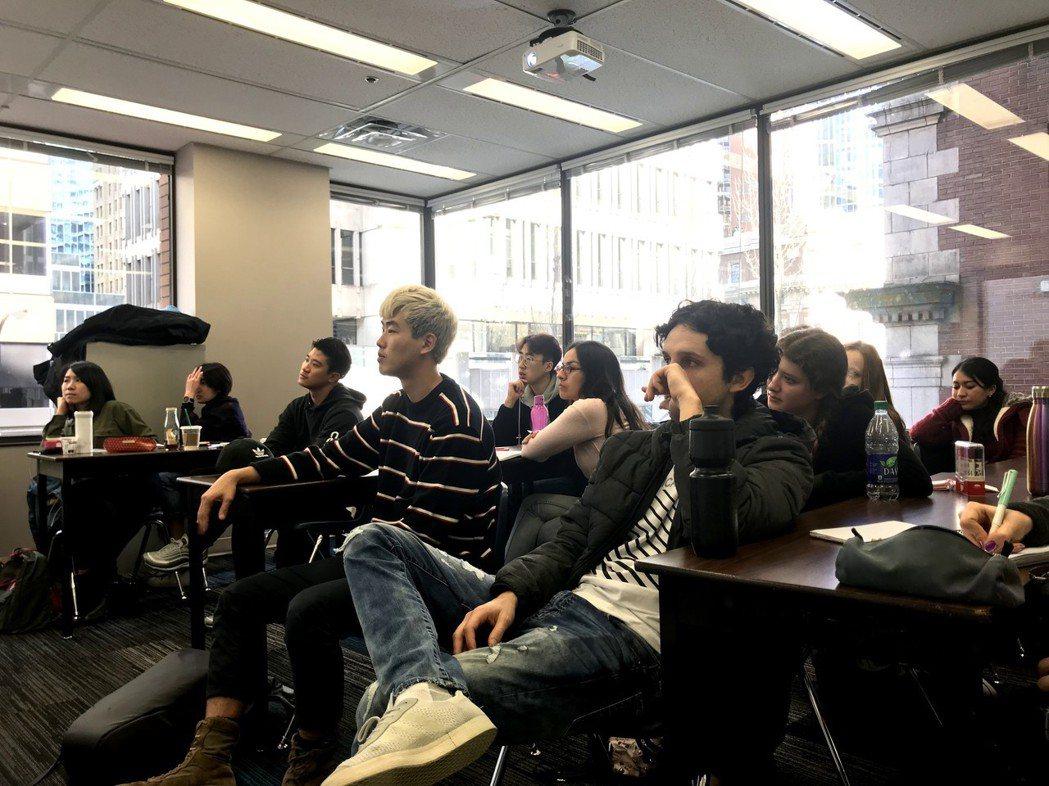 OVO Education至加拿大公立學院實地考察的上課情況。 OVO Educ...