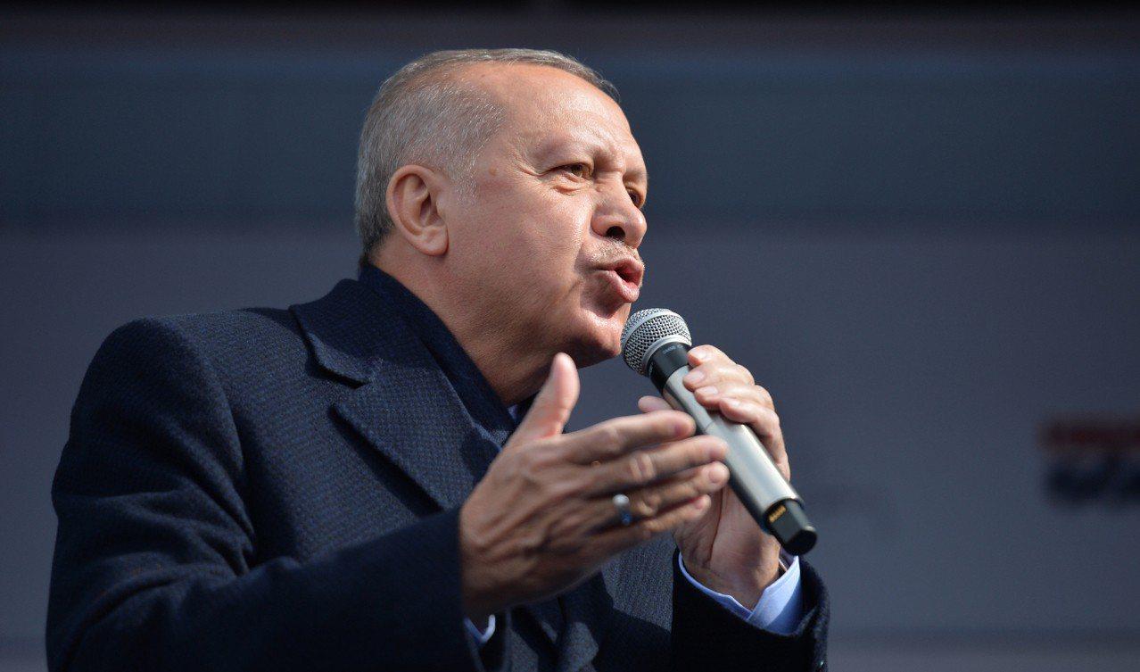 土耳其總統艾爾段(Recep Tayyip Erdogan)。 歐新社