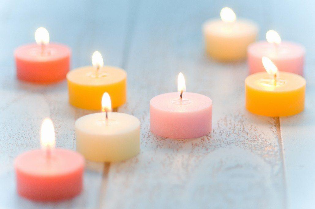 蠟燭示意圖。圖片來源/ingimage