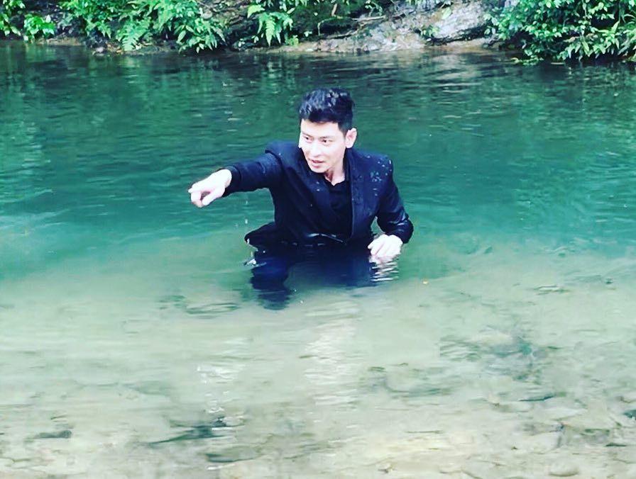 陳冠霖曬照疑爆雷。 圖/擷自陳冠霖臉書