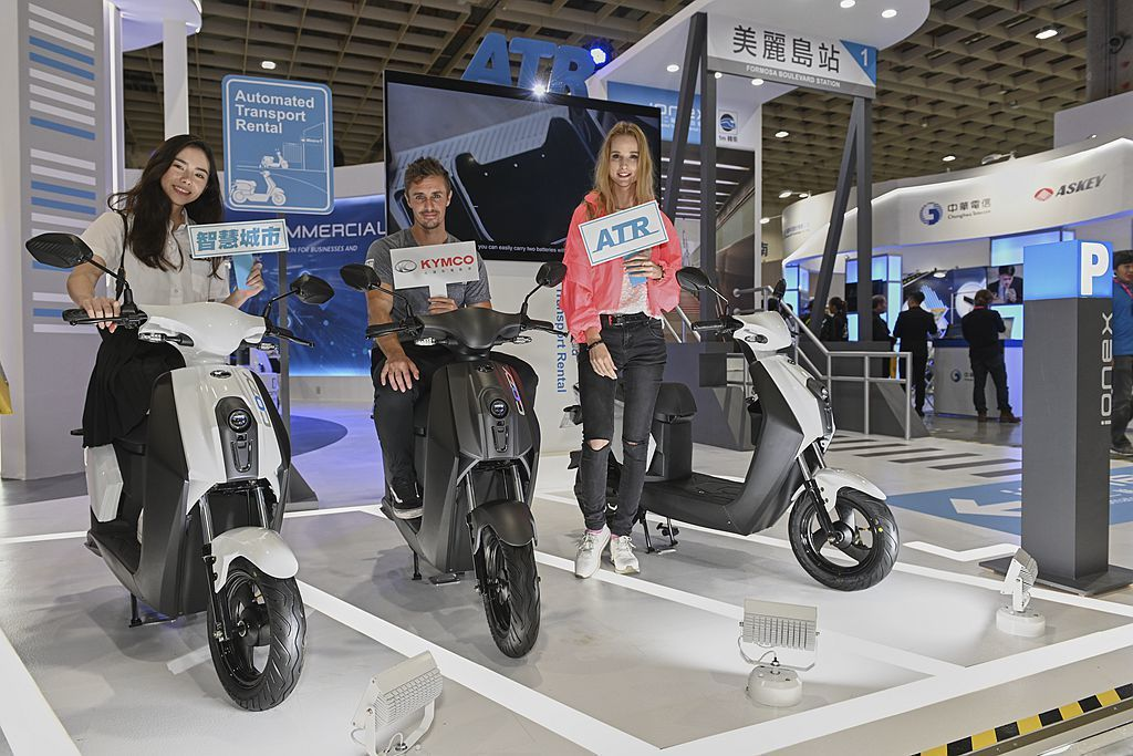 KYMCO Ionex智慧自助租賃(ATR)不僅提供高功率電動車款Many110...
