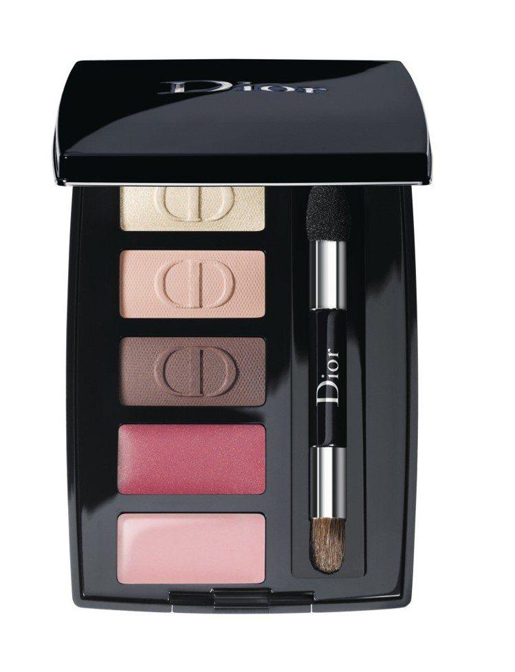迪奧精巧甜心眼唇妝盤。 圖/Dior 提供