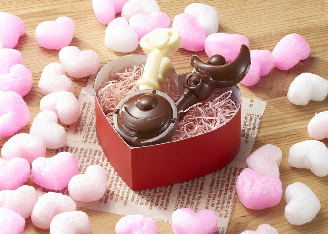 看這個巧克力有多精緻!