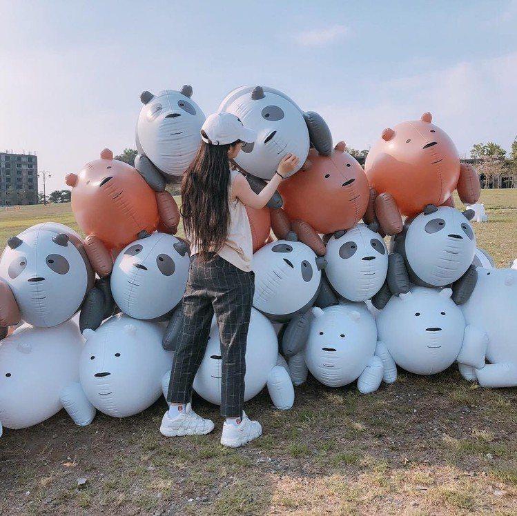 圖/網友正在打造熊熊山。網友yp.11.14授權