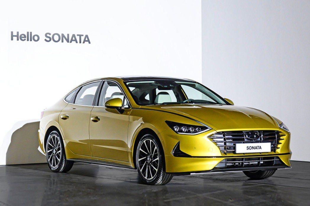 第八代Hyundai Sonata在三月中旬於韓國正式發表。 摘自Hyundai