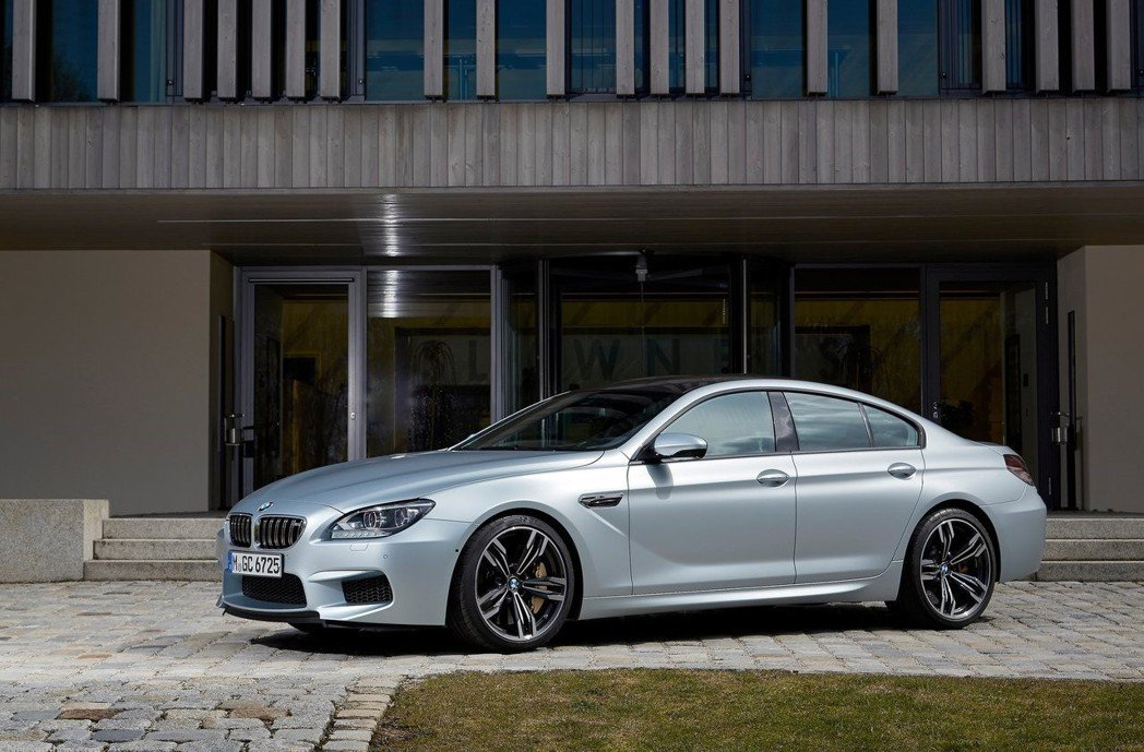 BMW M6 Gran Coupe。 摘自BMW
