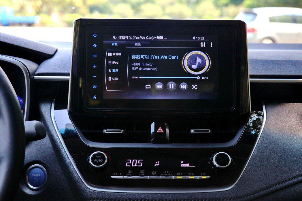 進階車型上導入與之前全新RAV4相同的「TOYOTA Drive+ Connec...