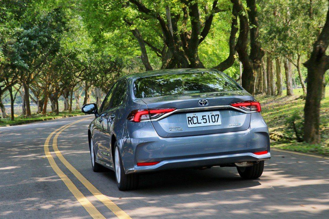 Corolla Altis大改款後提供更優異的駕馭感受。 記者陳威任/攝影