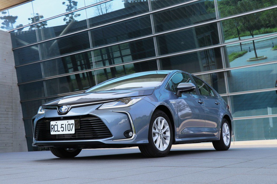 Corolla Altis依然穩坐台灣最暢銷車款的寶座。 記者陳威任/攝影