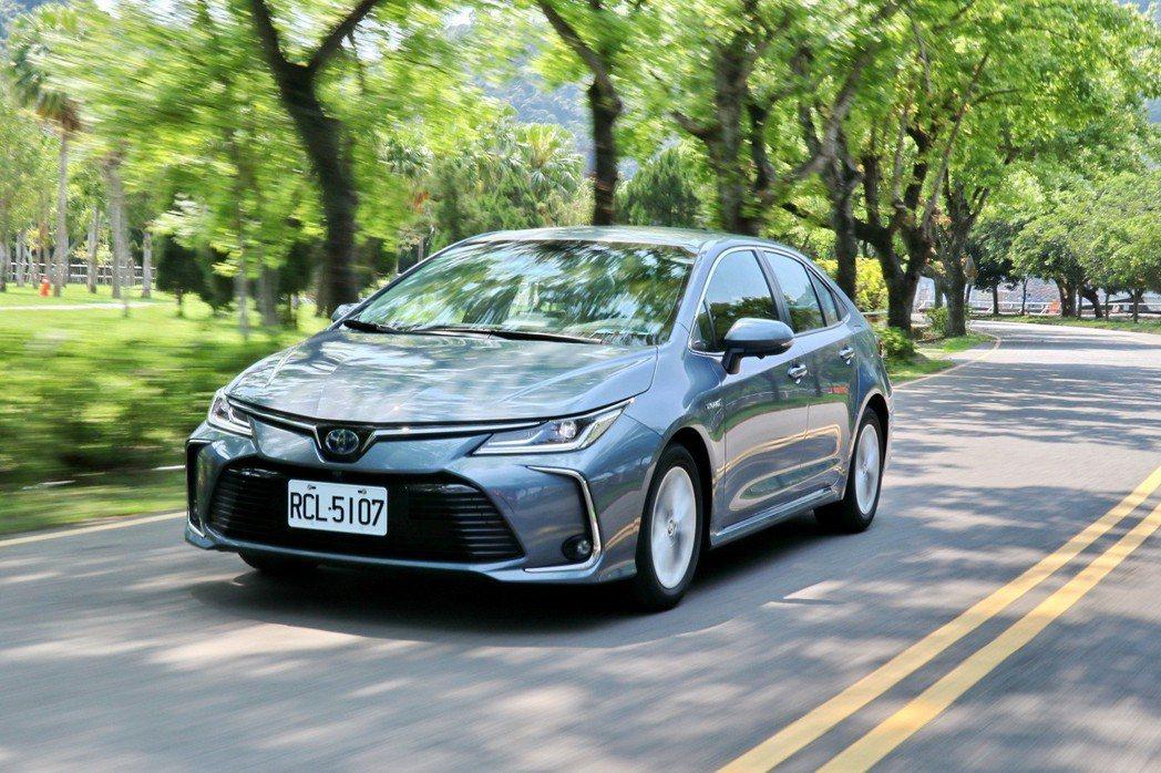 Corolla Altis在大改款後提供駕駛人更高的信心值。 記者陳威任/攝影