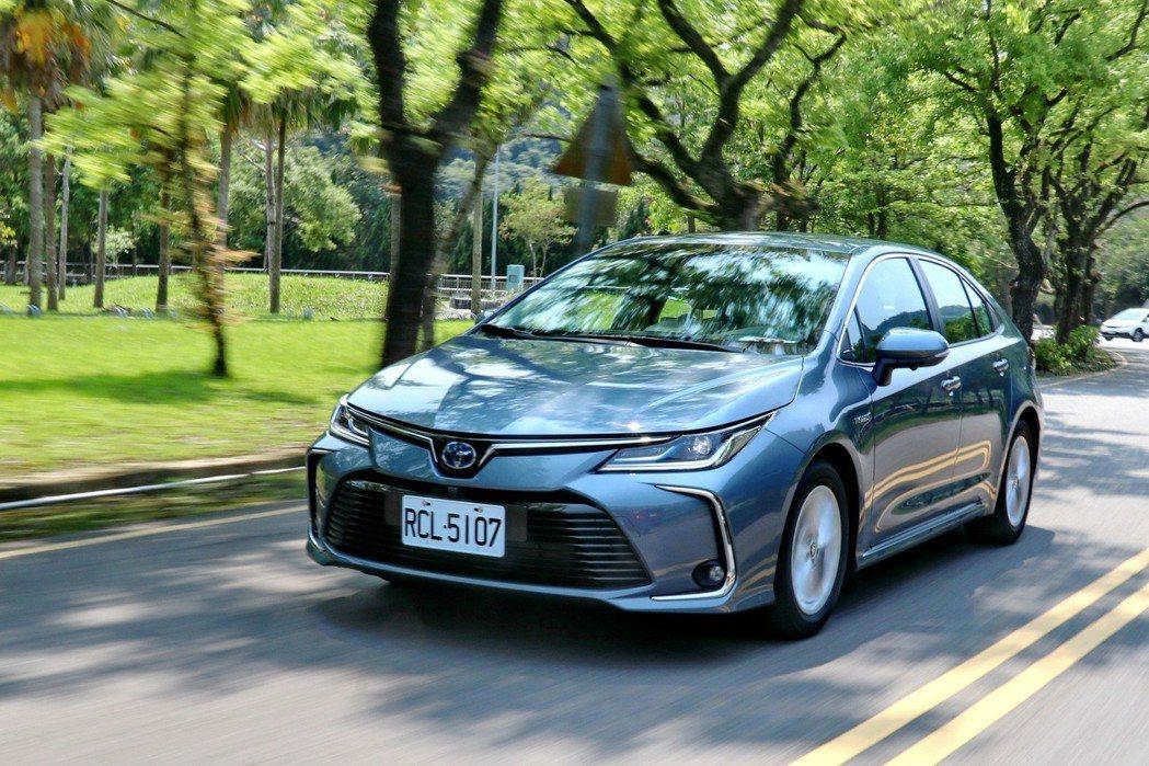TOYOTA Corolla Altis Hybrid今年3月底推出至今,就賣出...