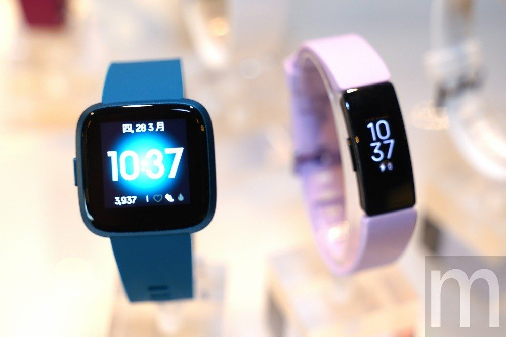 此次在台推出的Fitbit Versa Lite與Fitbit Inspire ...