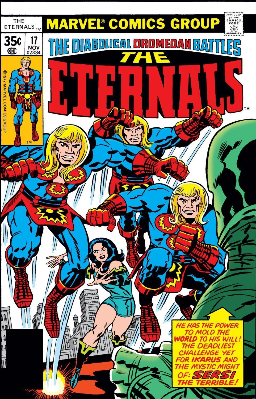 「The Eternals」確定是漫威下一階段的重量級大片。圖/摘自marvel...