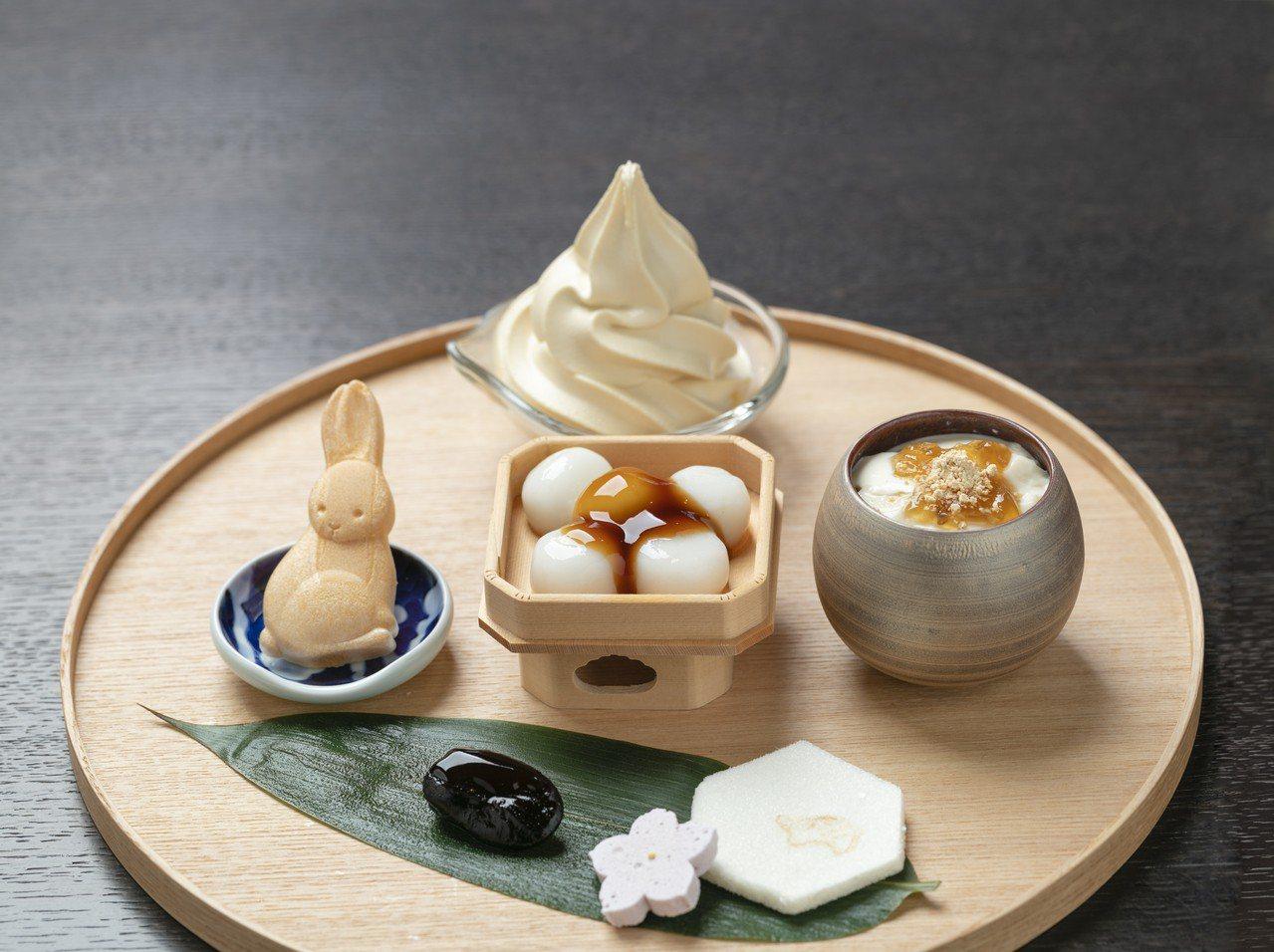 濱田醬油與日式甜點也很搭。 圖/濱田醬油提供