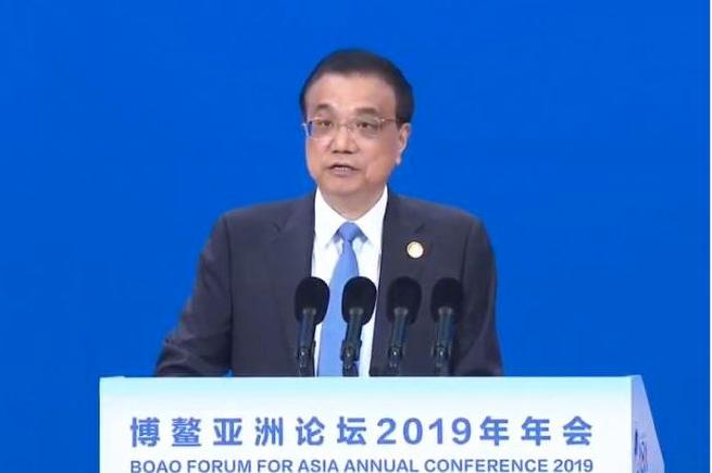 中共國務院總理李克強。央視畫面截圖