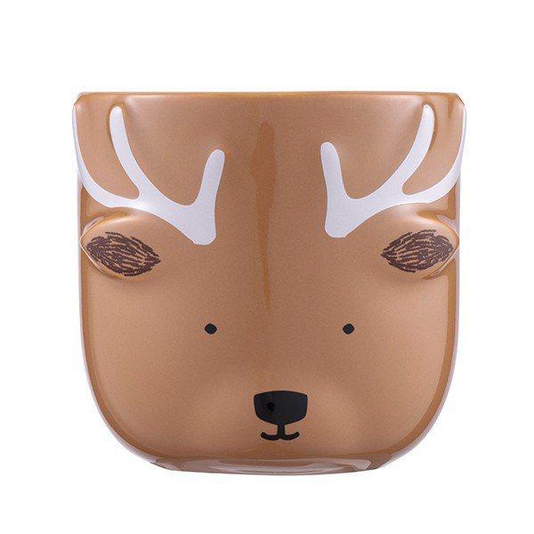 水鹿共愛馬克杯,售價550元。圖/星巴克提供
