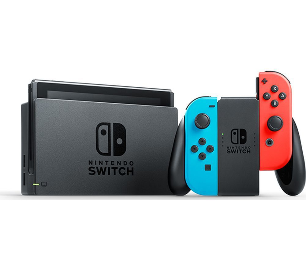 任天堂Switch電玩主機為蝦皮購物站上熱搜第一名人氣電玩商品,為適合闔家同樂的...