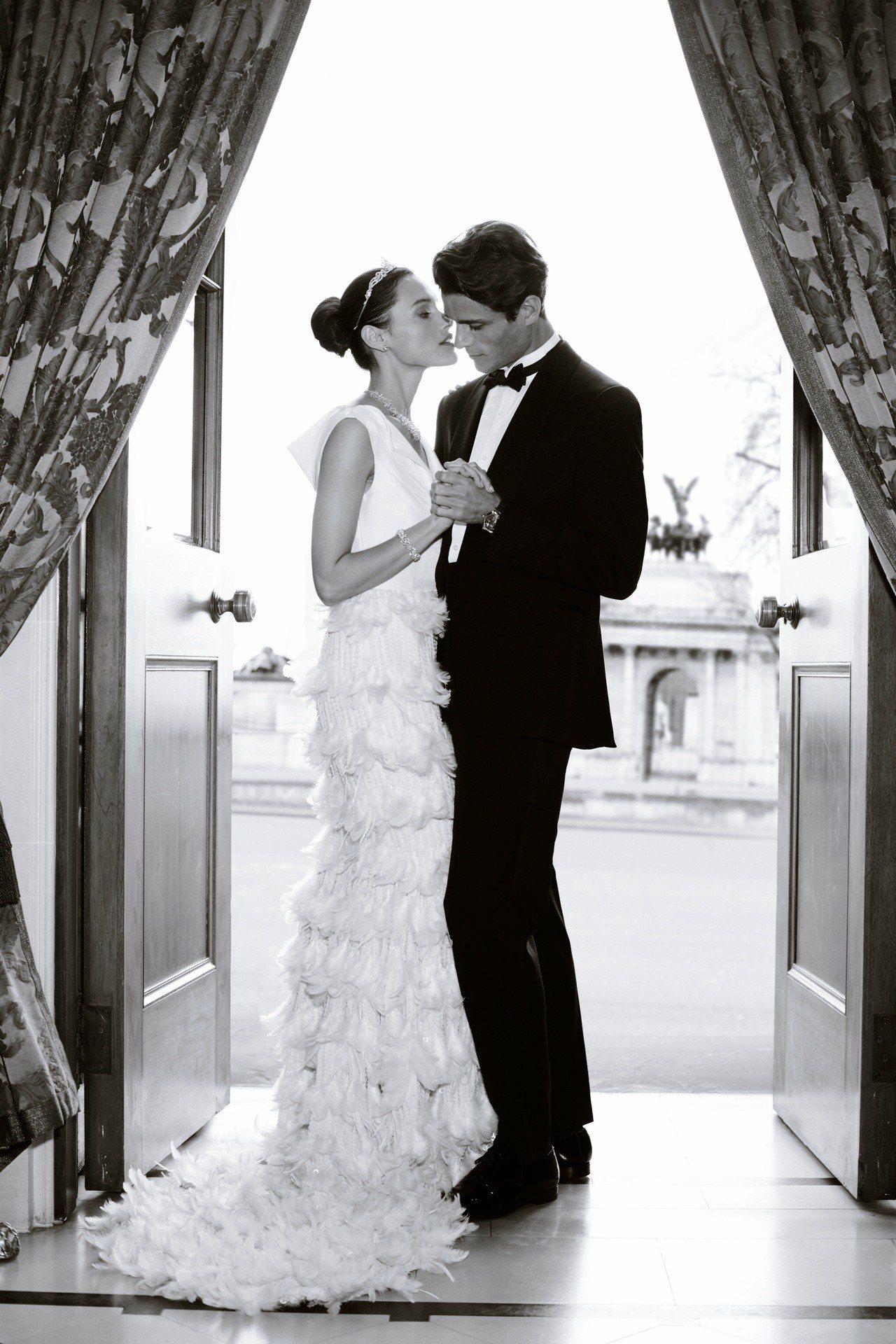 格拉夫於寶麗廣塲婚嫁珠寶展至4月3日止。圖/格拉夫提供