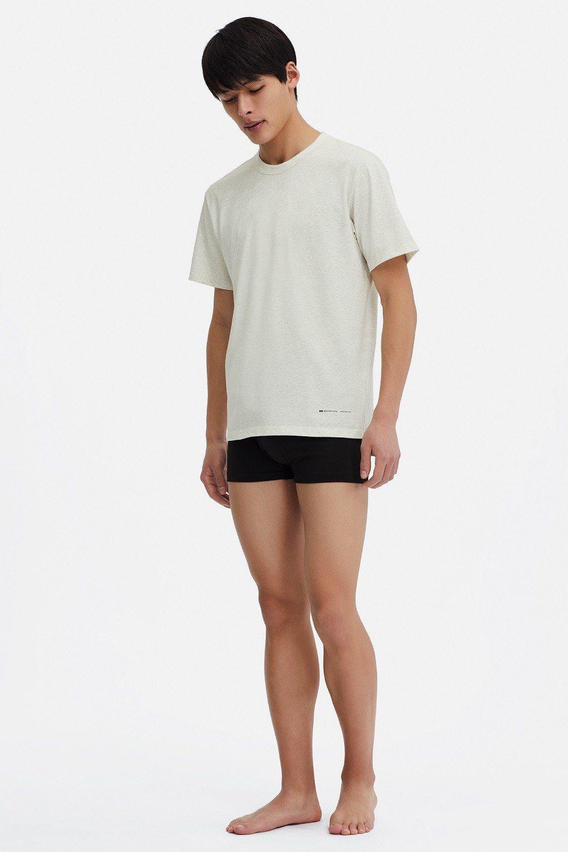 AW AIRism圓領T恤(短袖)。圖/UNIQLO提供