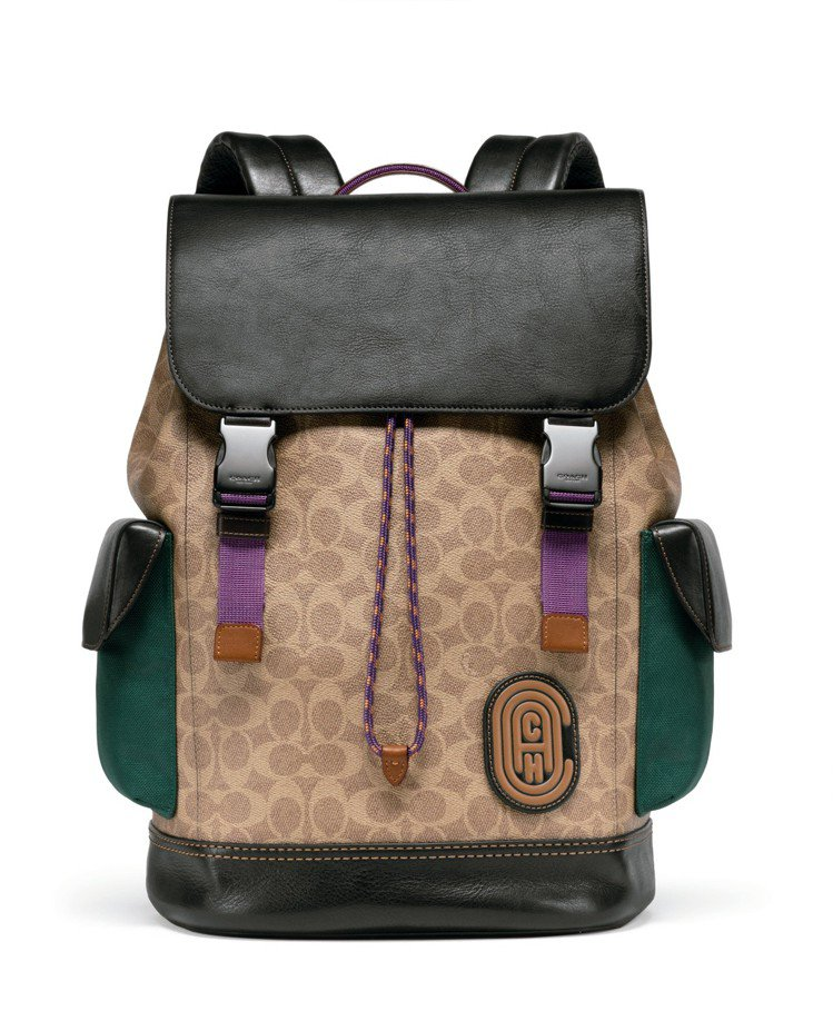 Rivington後背包,售價27,800元。圖/COACH提供