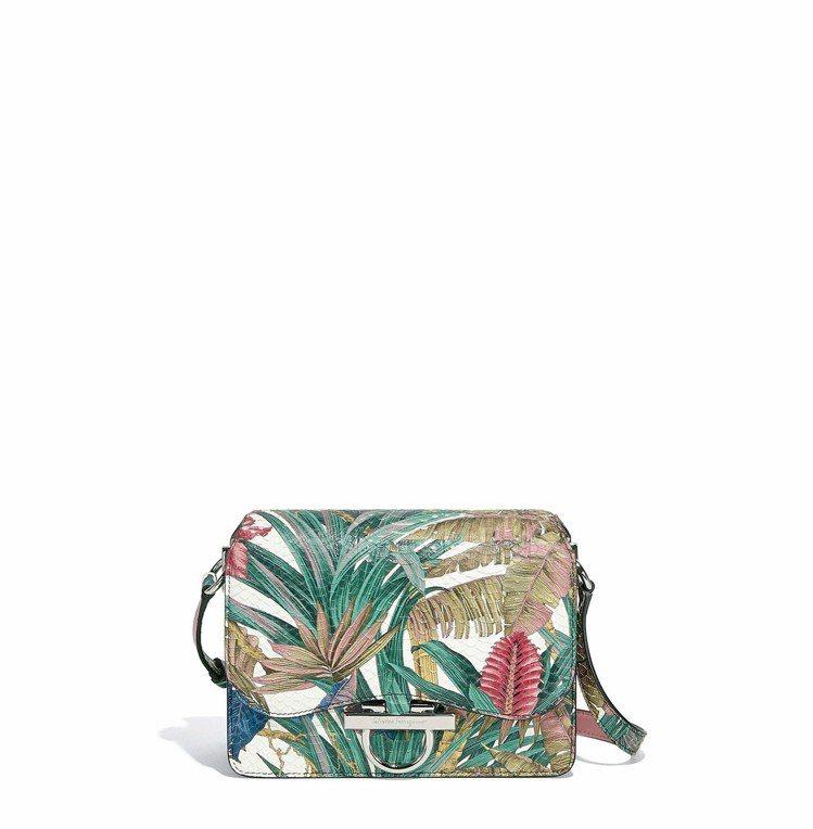 始源推薦的JOANNE多色印花蛇皮肩背包,95,000元。圖/Ferragamo...