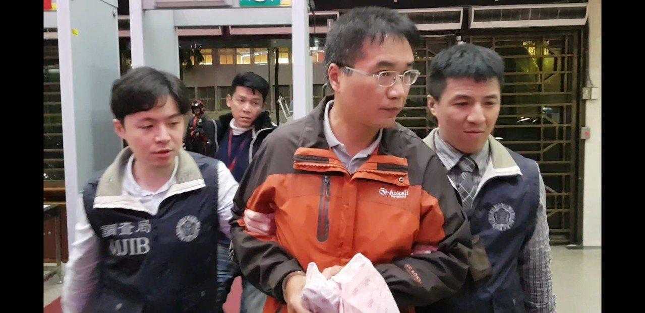 中山分局再爆員警包庇牛郎店案。記者張宏業/攝影