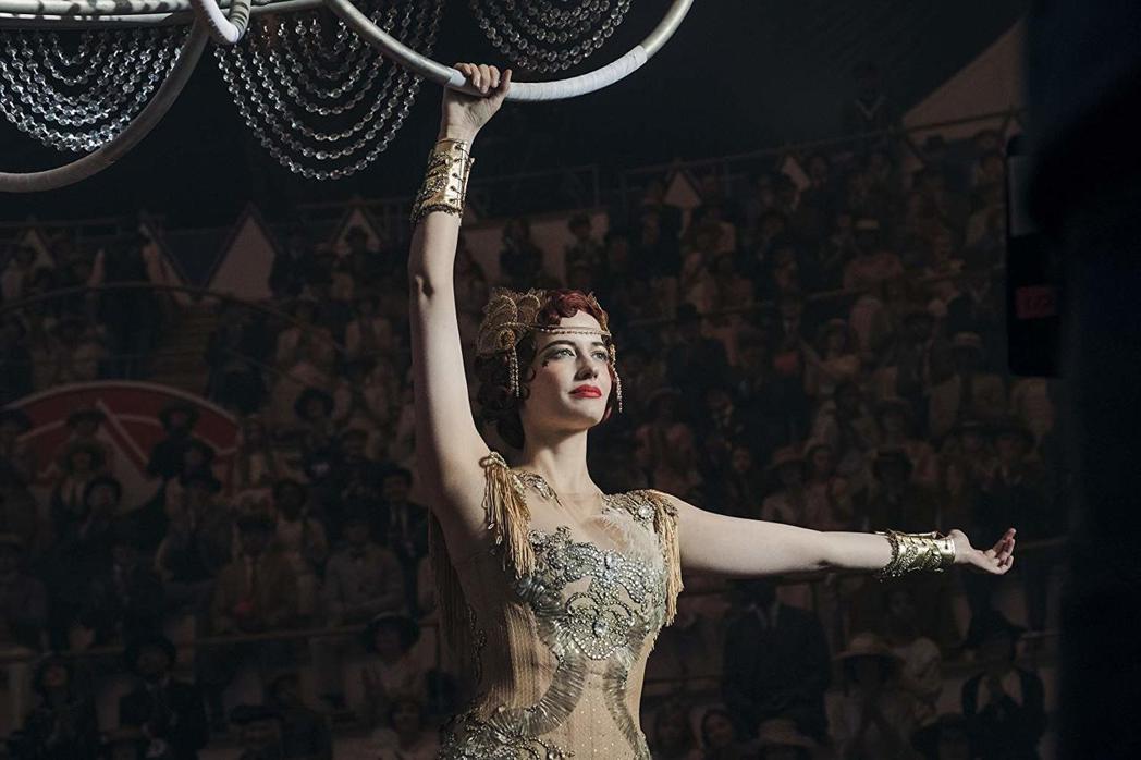 伊娃葛林扮演來自法國的女空中飛人。圖/摘自IMDB
