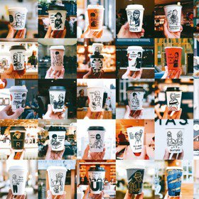 風格/留住當下的美好 用插畫記錄風格咖啡店