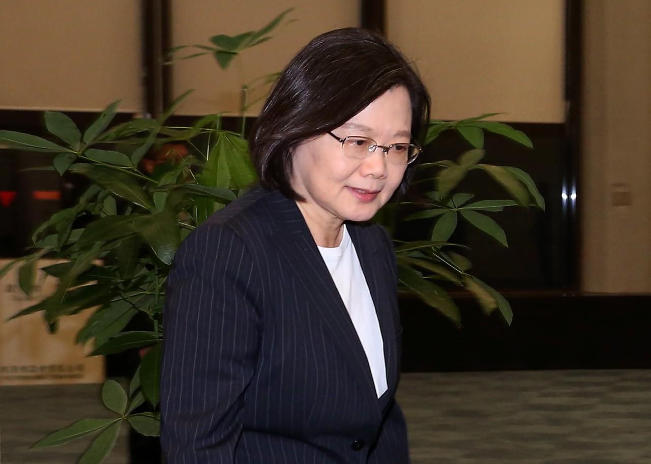 蔡英文總統。 記者陳嘉寧/攝影