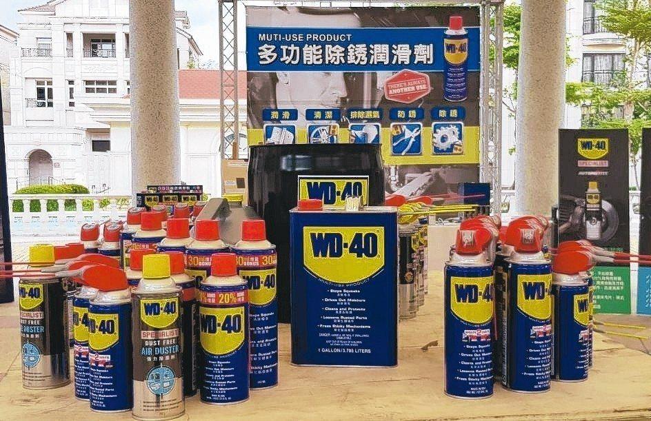產品行銷176國的WD-40,從「紅色帽子黃藍色罐的WD-40」,逐漸發展出食品...